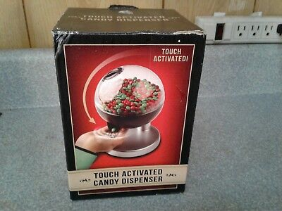 NEW UNUSED Samsonico USA Candy Gumball Machine Dispenser Touch Sensor Activated