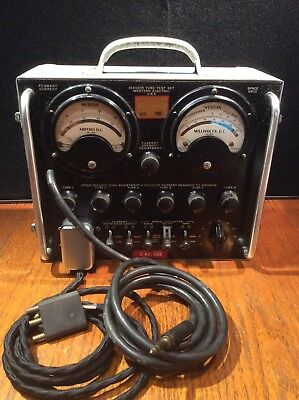 Vintage 1941 Western Electric J64001R-2 Tube Test Set Complete