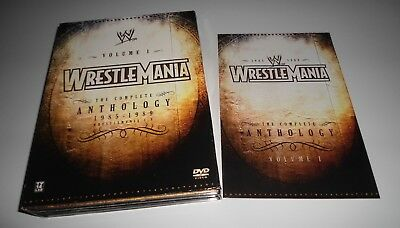 WWF/WWE Wrestlemania The Complete Anthology 1985-1989 Vol. I 1 (5 DVD Set) One