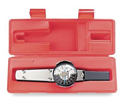 """Proto Plain-Handle Dial Torque Wrench, 1/4"""" Drive Size, 1 in.-lb. Primary Scale"""