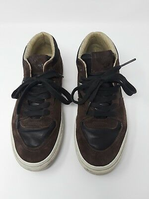 38ccdd16707fe7 Vans Half Cab Pro Skateboard Shoes Brown Suede Leather Mens Size 9 Womens  10.5
