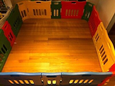 Jolly KidZ Versatile Playpen with Extensions Set, Great Used Condition RRP $299