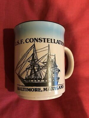 New BALTIMORE  USF Constellation Mug Embossed Double Sided Images