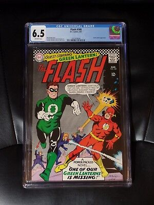 The Flash #168 CGC 6.5 — Off-white pages — New case — No Reserve