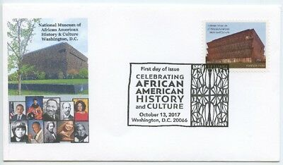 2017 Fdc, National Museum Of African American Historu & Culture