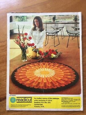 long stitch Catalogue Magazine Readicut Retro Interior Design