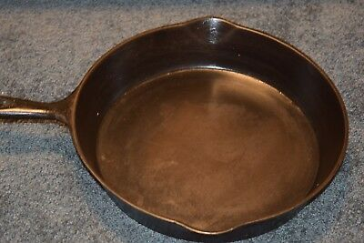 Rare/HTF Sidney Hollow Ware Co. #9 Skillet  Sidney, OH (1888-1897)