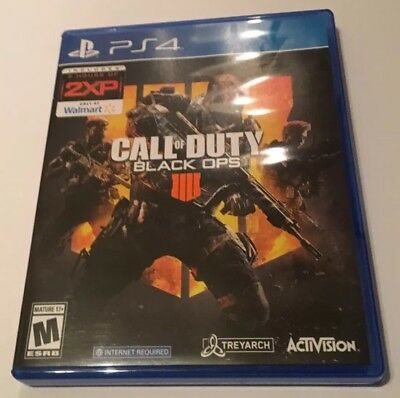 Call of Duty: Black Ops 4 (PS4) (Walmart 2XP Code Included) GREAT CONDITION