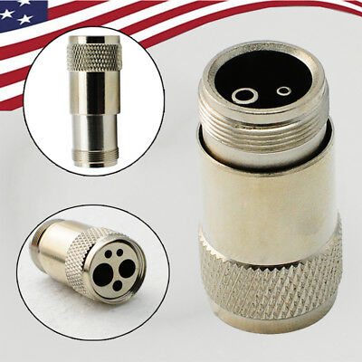 USA Dental fast High Speed Handpiece Tubing Adapter Changer 4 Holes to 2 Holes