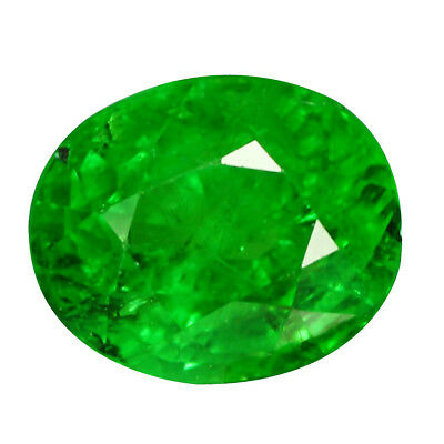 2.19Ct STUNNING PEAR CUT! LUSTROUS GREEN !!100% NATURAL TSAVORITE!!!