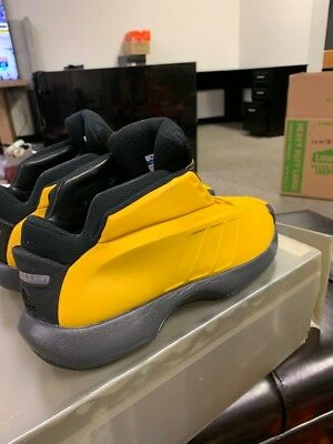 new products 64fbf 7d647 Adidas Crazy 1 Black  Yellow Mens Size 11.5 SUNSHINE OG 2001 WITH BOX