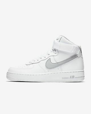 quality design 1ec14 711c9 New Men s Nike Air Force 1 High 07 3 Shoes (AT4141-100) White