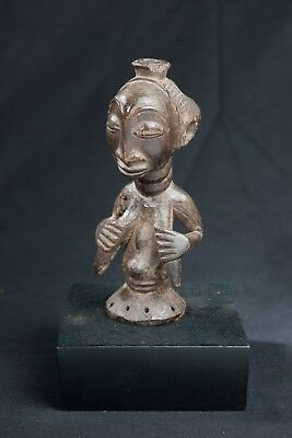 Baluba Female Statue, D.R. Congo, Central African Tribal Arts
