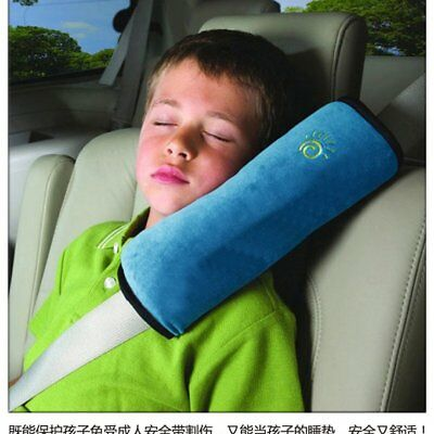 Car Seat Belt Pillow Pads Harness Safety Shoulder Strap Covers Cushion Children