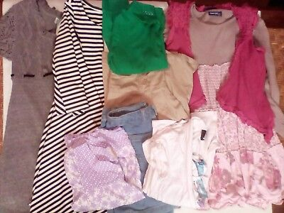 Girls Clothes Lot with 8 Pieces. Sizes: 7 - 8
