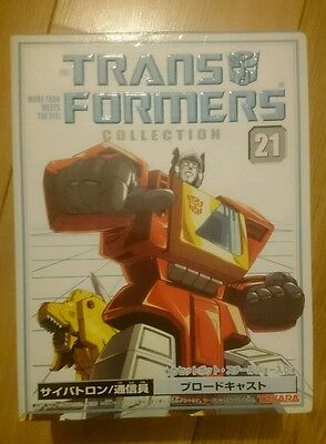 Transformers G1 Takara Book Collection 21 Blaster new in box