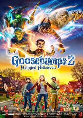 Goosebumps 2: Haunted Halloween HD  DVD + Digital (HDX) *PLEASE READ*