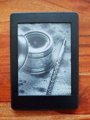 "Amazon Kindle Paperwhite 4GB, Wi-Fi, 6"" - Black eBook Readerk (Good Condition)"