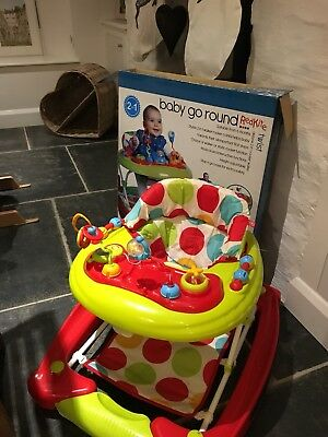 Red Kite Baby Go Round Twist Walker Activity for Toddlers