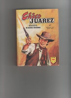 BD CHICO JUAREZ RECUEIL n°660 1974 EDITIONS AREDIT