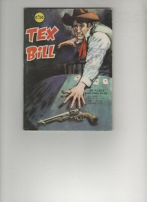 BD TEX BILL N° 43 Les complices  1966 Editions AREDIT