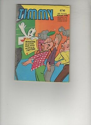 BD TIMMY le fantôme timide N°16 1964 Editions : ARTIMA