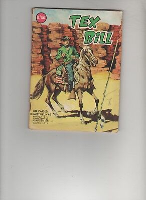 BD TEX BILL N° 48 La revanche du Shérif 1967 Editions AREDIT