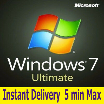 WINDOWS 7 Ultimate 32/64 BIT WIN 7 UL ACTIVATION KEY, INSTANT DELIVERY 5 min MAX