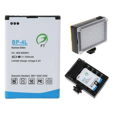 1x2500mah BP-4L Replacement Li-ion Battery For 96/112 LED Camera Video Light