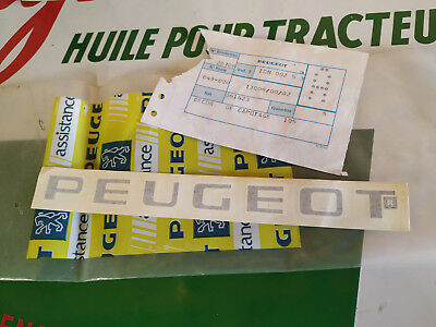 N.O.S decalque decor carter PEUGEOT 105 mobylette