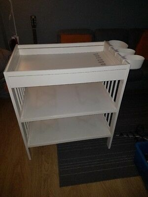 Baby Changing Dresser Station Unit Table 3 Levels