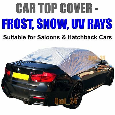 Car Top Cover Small - Medium Waterproof Resistant Half Frost Protection UV Rays