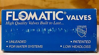 "FLOMATIC 1-1/2"" FNPT Lead Free Brass Spring Check Valve CAMPBELL 4033E BRAND NEW"