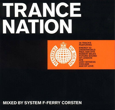 Ministry Of Sound - Trance Nation Vol. 1 ( 2 X CD Mixed By Ferry Corsten)