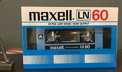 Maxell LN 60 High Output Low Noise New Sealed