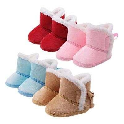 49325b785c26 0-18M Toddler Baby Booties Infant Boy Girl Soft Sole Crib Boot Winter Warm  Shoes