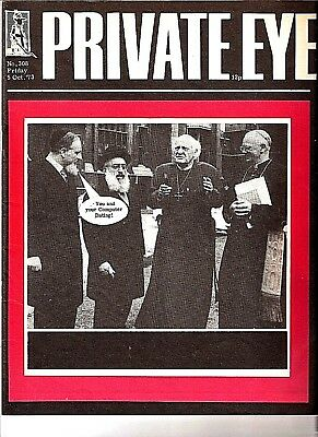 Private Eye Mag # 308  5 October 1973  Michael Ramsey  Archbishop of Canterbury