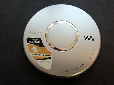 Sony Cd Walkman D-Ej011 Working Condition (Relisted Due To Non Payer)