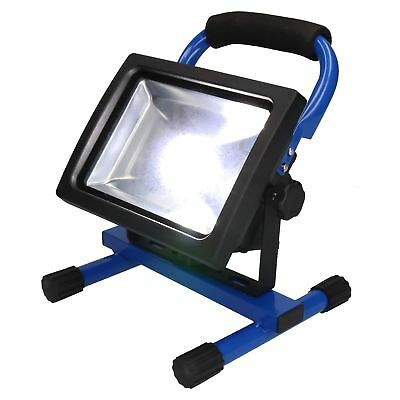 20 Watt Free Standing COB Flood Light Lamp Floodlight Portable Site Light