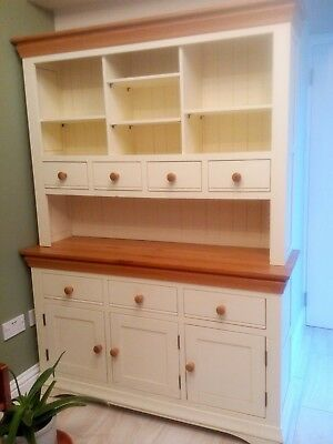 Used Large Dresser Country Cottage  natural oak and painted