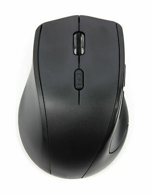 USB Left Handed Wireless Mouse W/ Browser Buttons for ALL Toshiba Laptops