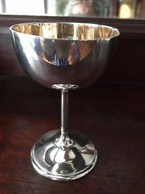 Sterling Silver Cup Cordial Goblet Chalice