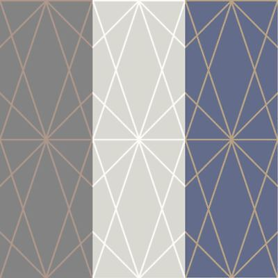 Childrens Geometric Wallpaper Jester Triangles Lime Pink Red Blue Fun Arthouse