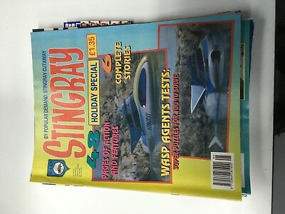 Stingray Holiday special Gerry Anderson 48 pages great condition