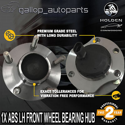 For Holden Front Left Wheel Bearing Hub V6 V8 w/ABS Commodore Calais Statesman