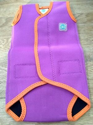 Splash About baby wetsuit wrap size small 0-6 months