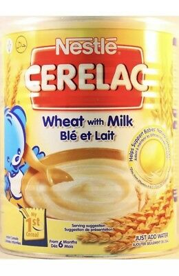Nestle Cerelac Wheat with Milk 400g From 6 Months