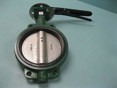 "8"" Stockham Wafer-Style CI Butterfly Valve DI Disc LG512-DS3-B NEW P17 (2351)"