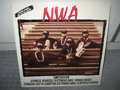 """Maxi N.W.A. """"Express yourself"""" (Ruthless Records)"""