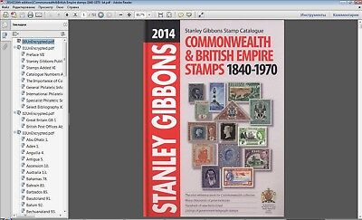 Stanley Gibbons 2014 Commonwealth & British Empire stamps 1840-1970 in PDF